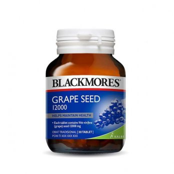 Blackmores Grapeseed Grape Seed 12000 BPOM Kalbe - 30 Tablet