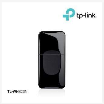 Tp-Link 300Mbps Mini Wireless N USB Adapter TL-WN823N - Hitam