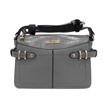 Bellezza Handbag MS22652 Grey