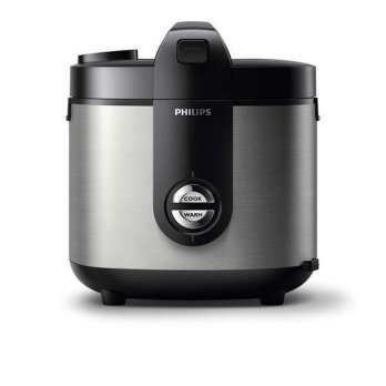 PHILIPS HD3128/33 Rice Cooker - Silver