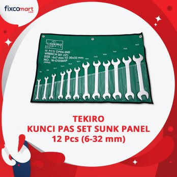 Kunci Pas Set Sunk Panel 12 Pcs / Kunci Pas Tekiro