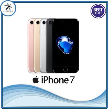 [TERMURAH]iPhone 7 128GB Black Matte Warranty International 1 Years