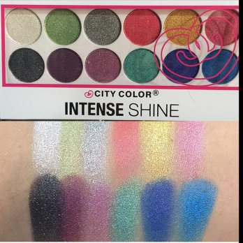 City Color Intense Shine Eye Shadow Palette