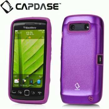 CAPDASE ALUMOR METAL BLACKBERRY 9860/9850 - PURPLE