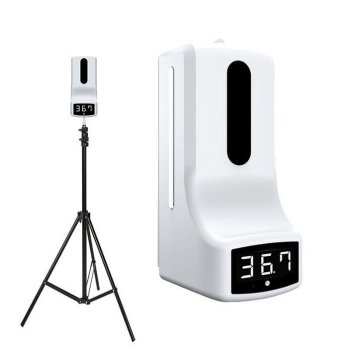 Infrared Thermometer automatic Non contact sensor tangan free tripod