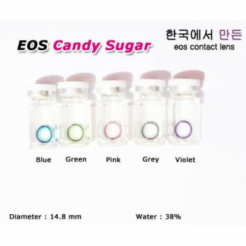 New Original Softlens Eos Sugar Candy Blue (Biru) -Original 100%-Terlaris