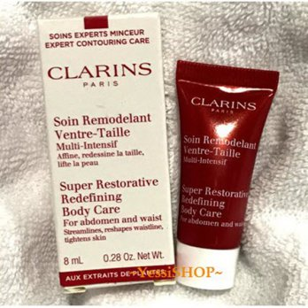 CLARINS SUPER RESTORATIVE REDEFINING BODY CARE FOR ABDOMEN AND WAIST 8ML