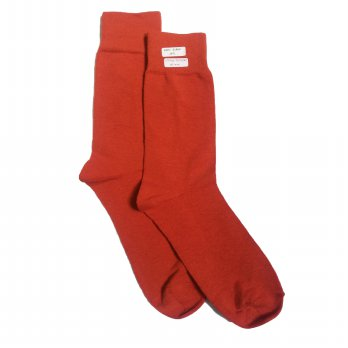 Andri Collection - Men Plain Sock (Kaos Kaki) CNS - Orange Designer