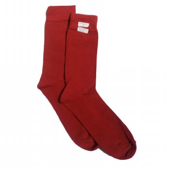 Andri Collection - Men Plain Sock (Kaos Kaki) CNS - Red Scarlet