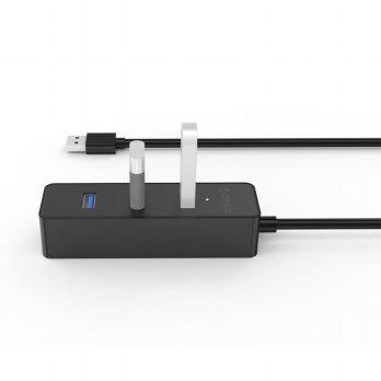 [esiafone #1 usb hub] ORICO Ultra Mini USB 3.0 High Speed HUB 4 Port 30CM Cable - W5PH4-U3 Origina