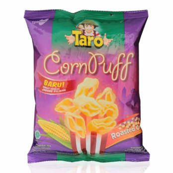 Taro Corn Puff Roasted Corn 35 gram