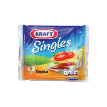 Kraft Singles (Isi 5 slices reguler)