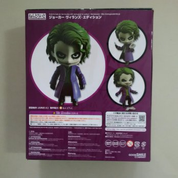 D.I.S.K.O.N Nendoroid The Joker Dark Knight Villain's Edition (Heath Ledger) KWS