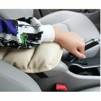 Armrest Mobil Cover Console Box Arm Rest Bantal Tangan Matic Manual