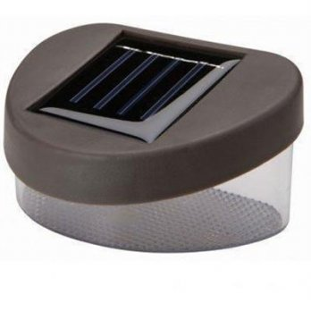 Lampu Solar Taman LED Solar Lamp Outdoor Garden - Brown