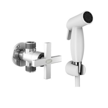 AER Bundling Shower Bidet Jet Shower BD 04W - AIR Kran Tembok TA 9G Z