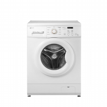 LG F8008NMCW Front Loading Washing Machine 8 Kg Turbowash™ Inverter Direct Drive Motor