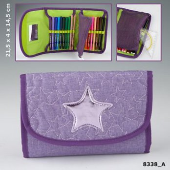 TOP Model TM 8338 TM Filled RollUp PencilCase,SS