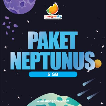 Paket Internet Satelit Neptunus 5GB Bandwith Up to 6 Mbps