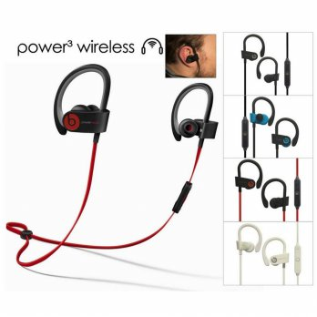 Earphone Beats Power 3 Wireless Sport Headset Bluetooth MR12238