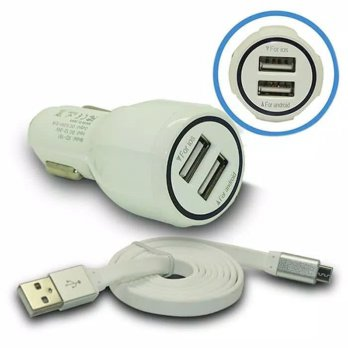 CAR CHARGER JAWS DUAL USB 3.1A JS0083