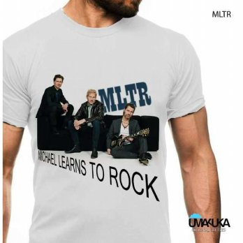 Kaos 3D Umakuka - MLTR BAND (white only)