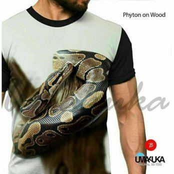 Kaos Full Print Premium Umakuka - PHYTON ON WOOD