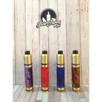 MECHA MOD SET VAPOR VAPE- MAGE MECH CLONE BY COILART MULTICOLOR PURPLE