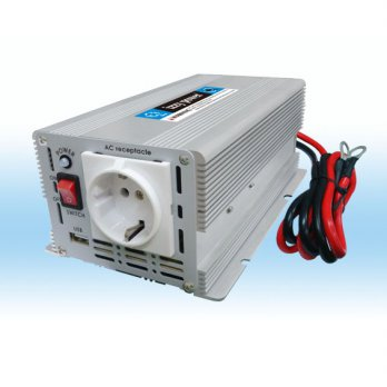 IZZY POWER DC to AC Car Inverter HT-M-600-12 600 Watt 12 Volts with 2A USB Port