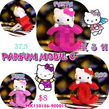 Parfum mobil hello kitty chanel