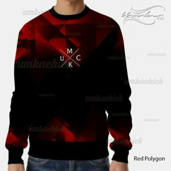 Red Polygon - Sweater Umkachick Original