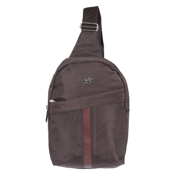 Sling Bag Polo Twin 673-06 Coffee