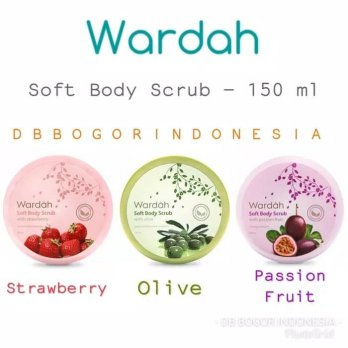 WARDAH SOFT BODY SCRUB 150 ML