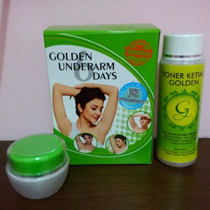 Golden Underarm 6 Days Original - Pemutih Ketiak