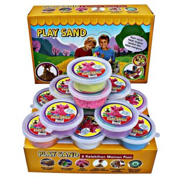 Play Sand Box 12 pcs