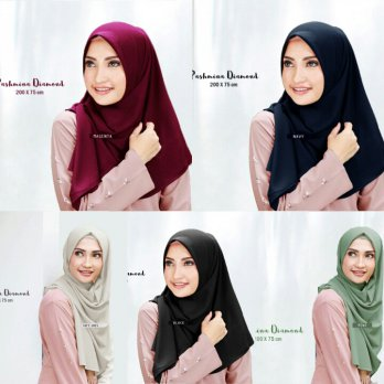 PASHMINA DIAMOND ITALIANO / Hijab Shawl Wanita / Diamond Scraf