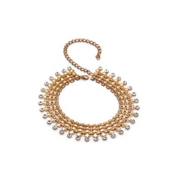 KALUNG FASHION IMPORT SOPHIE MARTIN JISUKA NECKLACE GOLD N00937G1 ORI