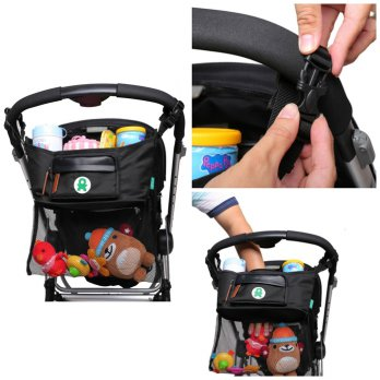 BabyGo Inc Stroller Organiser with Nett Storage