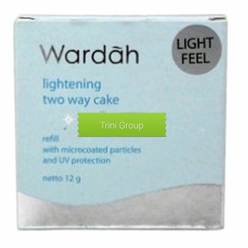 Wardah Lightening Two Way Cake Refil 12 gram