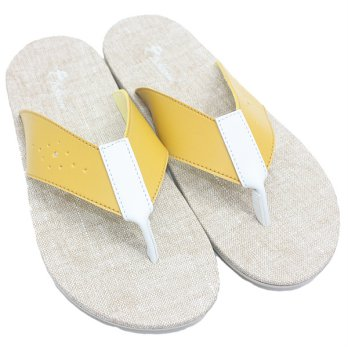 Dr. Kevin Man Sandals 97208 - Yellow