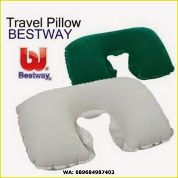 BANTAL LEHER / TRAVEL PILLOW ANGIN/UDARA BESTWAY COMFORT DAN MURAH !!!