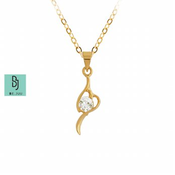 BE.JUU Kalung Joy Spring 18K Gold Plated Korean Jewelry