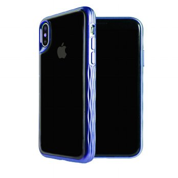 Viva Madrid Glosa Mist Casing for iPhone X - Blue Sapphire