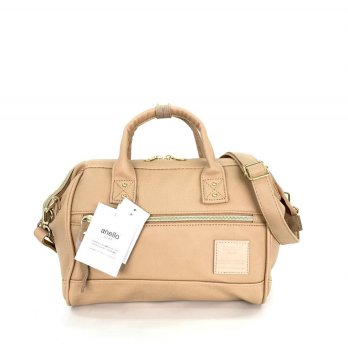 Tas Import Anello Boston 2Way Leather PU Small - Cream