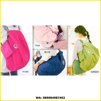 Korean Bag Iconic 3 Way Easy to Carry bag / Tas Lipat / Foldable