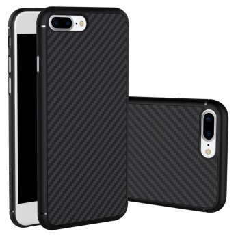 Nillkin Synthetic Fiber Series Protective Case for iPhone 7 Plus - Black