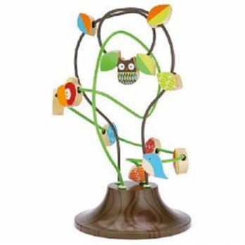 Skiphop TreeTop Friends Busy Bead Tree