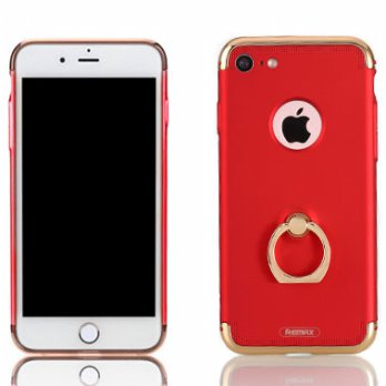Remax Lock Series Case with iRing for iPhone 7 - Red