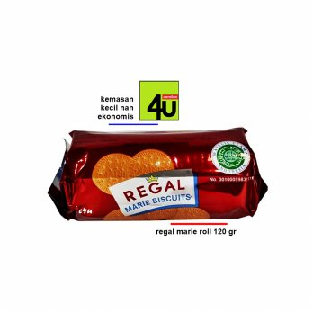 Regal - Biskuit Marie Roll Kecil 120 gr