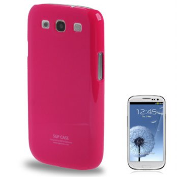 SGP Series Plastic Case for Samsung Galaxy SIII / i9300 (OEM) - Magenta